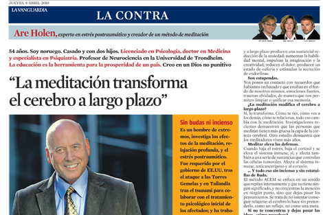 Are Holen in Lavanguardia