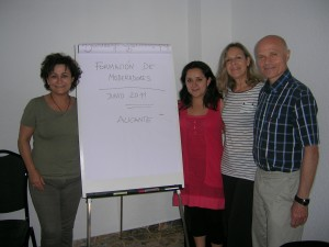 Moderator training in Spain